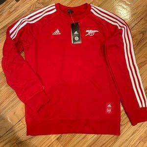 Adidas Arsenal Crew Neck Sweatshirt